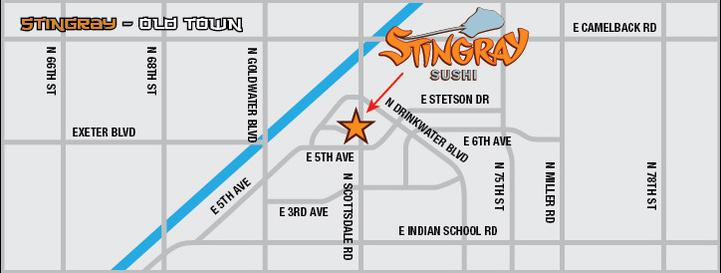 Stingray Location